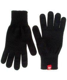 Stoprocent-Rękawiczki Męskie Czarne