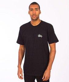 Stussy-Basic Logo T-Shirt Black
