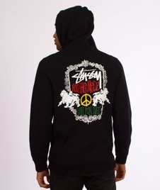 Stussy-Lion Shield Hood Bluza Kaptur Black