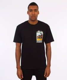 Stussy-Love And Hate T-Shirt Black