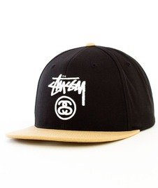 Stussy-Stock Lock SP16 Snapback Black