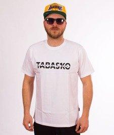 Tabasko-Cut T-Shirt Biały