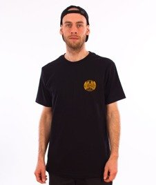 Turbokolor-Simple Thread Oval T-Shirt Black