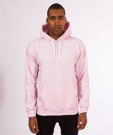 "Unhuman-Classic ""U"" Hoodie Bluza Różowa"