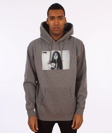 V/SUAL-Joint Pullover Hoodie Gunmetal Heather Grey
