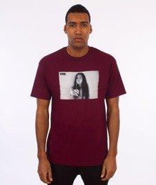 Visual-Joint T-Shirt Maroon