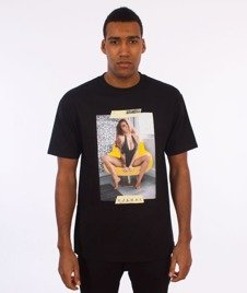 Visual-Tapped T-Shirt Black