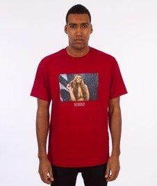 Visual-Twist T-Shirt Cardinal