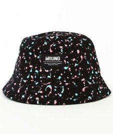 Wrung-Ink Bucket Hat Czarny